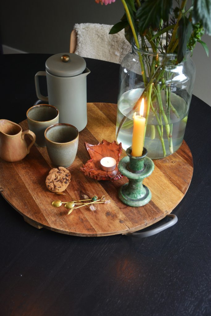 Styling plateau koffie