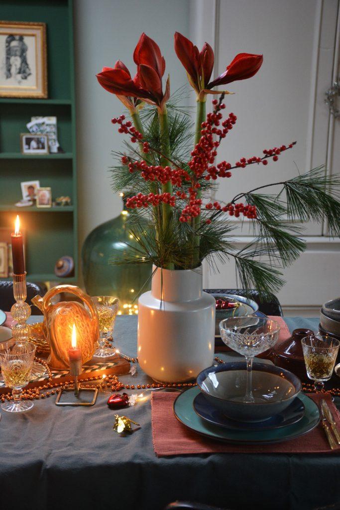 kersttafel styling